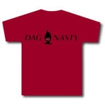 Dag Nasty Flame Head Maroon Girls T-Shirt