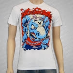 Dance Gavin Dance Dinosaur White T-Shirt