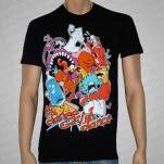 Dance Gavin Dance Food Fight Black T-Shirt