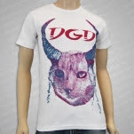 Dance Gavin Dance Horned Cat White T-Shirt
