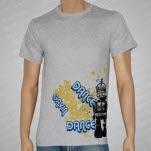 Dance Gavin Dance Robot Gray T-Shirt