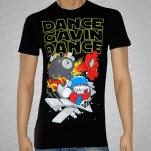 Dance Gavin Dance X Wing Fighter Black T-Shirt