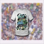 Dance Gavin Dance Zoo White T-Shirt