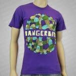 Dangerbird Records Doodle Purple T-Shirt