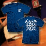 Dave Hause Get Hammered Royal Blue T-Shirt