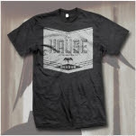 Dave Hause Vintage Label Charcoal T-Shirt