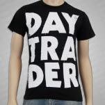 Daytrader Stacked Black T-Shirt