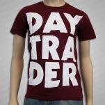 Daytrader Stacked Maroon T-Shirt