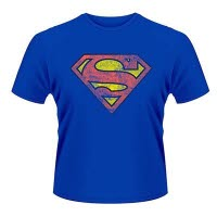 Dc Originals Superman Colour Logo T-Shirt