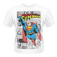 Dc Originals Superman Comic Strip T-Shirt
