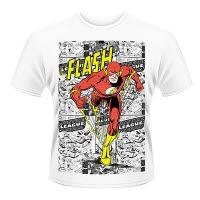 Dc Originals Flash Comic Strip T-Shirt