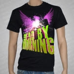 Dead By Morning Wings Black T-Shirt