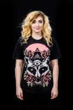 Dead End Threads FoxDie Black T-Shirt