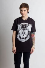 Dead End Threads Mortimers Nightmare Black T-Shirt
