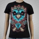 Dead End Threads Owl King Black T-Shirt