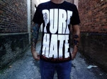 Dead End Threads Pure Hate 20 Black T-Shirt