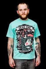 Dead End Threads Running Free Bluegreen T-Shirt