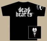 Dead Hearts Skull Black T-Shirt