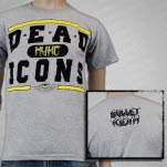 Dead Icons Seeing Eye Heather Grey T-Shirt