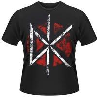 Dead Kennedys Distressed Dk Logo T-Shirt