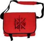 Dead Kennedys Dk Distressed Logo Messenger Bag