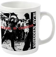 Dead Kennedys Holiday In Cambodia Coffee Mug