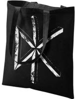 Dead Kennedys Distressed Dk Logo Sling Cotton Tote Bag