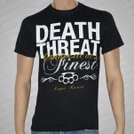 Death Threat Connecticuts Finest Black T-Shirt
