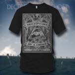 Deception Of A Ghost Illiminati Black T-Shirt