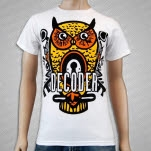 Decoder Owl White T-Shirt