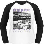 Deep Purple Budokan 1973 Baseball Adult Ls