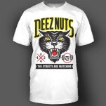 Deez Nuts The Streets Are Watching White T-Shirt