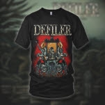 Defiler Throne Black T-Shirt