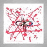Devin Townsend Splatter 4inchx4inch Full Sticker