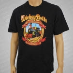 Dickey Betts Front Train Black T-Shirt