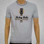 Dickey Betts Guitar Headstock Heather Gray T-Shirt