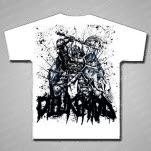 Die Like Kidd Warrior White T-Shirt