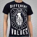 Different Values Barrage Navy T-Shirt