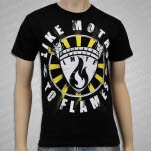 Different Values Crest Black T-Shirt