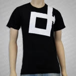 Direct Logo Black T-Shirt