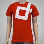 Direct Logo Red T-Shirt