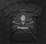 Disembodied Bones Black T-Shirt