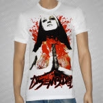 Disembodied Nun White T-Shirt
