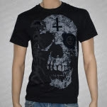 Disembodied Skull Black T-Shirt
