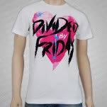 Divided By Friday Heart White T-Shirt