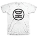 Dot Hacker Circle Logo White T-Shirt