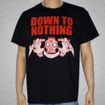 Down To Nothing Daggers Black T-Shirt