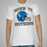 Down To Nothing Helmet White T-Shirt