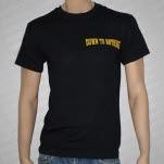Down To Nothing Lightning Black T-Shirt
