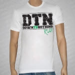 Down To Nothing RVA White T-Shirt